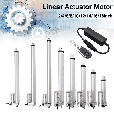 Linear Actuator Adjustable Actuator Door Opener Linear Actuator Motor 150/400 mm