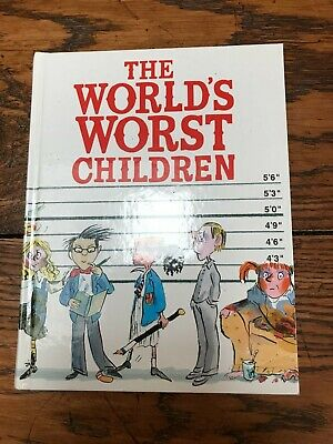 The Worlds Worst Children by David Walliams Hardback Book