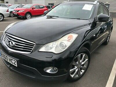 2010/60 Infiniti Ex37 3.7 V6 - Satnav, Leather, Alloys, 93K Miles, Fabulous Spec