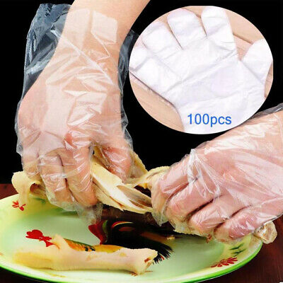Accessories Transparente PE Disposable Gloves Ecological BBQ One-off Plastic