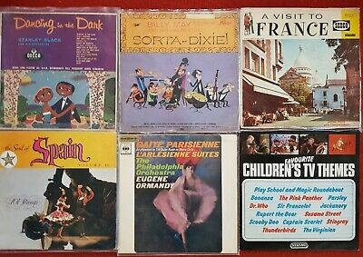Records bulk lot vintage easy listening selection party