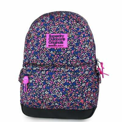 SUPERDRY Print Edition Montana Backpack American Ditsy Blue G91007JR-XD1
