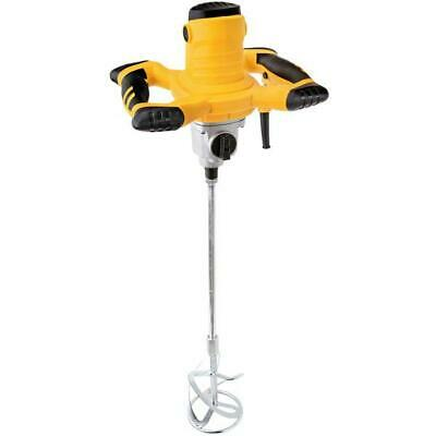 Heavy Duty 110V 1200W Cement Plaster Mortar Paint Mixer Mixing Paddle