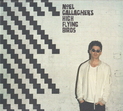 NOEL GALLAGHER'S HIGH FLYING BIRDS CHASING YESTERDAY HAND SIGNED 2x CD OASIS !