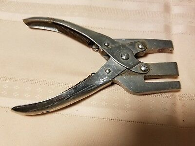 Vintage Sargent Punch Tool, Collectible, Steampunk, Estate Sale Find