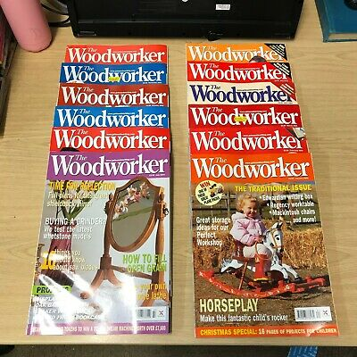 The Woodworker: Magazine: Complete 12 Issue Set: January-December 2003