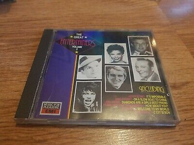The Great Entertainers Volume 2 CD