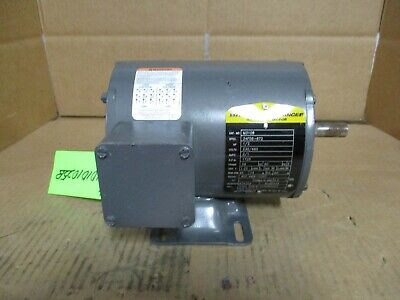 Baldor /Reliance Electric Motor Cat# M3108 1/2Hp 230/460V # 10101025B New