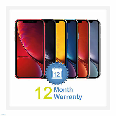Apple iPhone XR 64/128/256GB All Colours (Unlocked) Smartphone