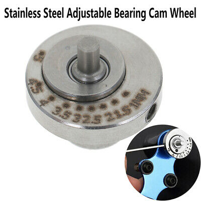 1Pcs Stainless Steel Adjustable Bearing Cam Wheel for Rotary Tattoo Machiner MC