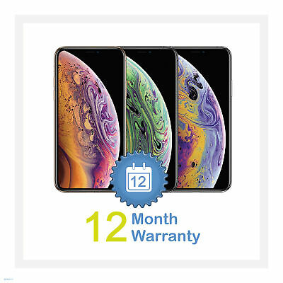 Apple iPhone XS 64/256/512GB All Colours (Unlocked) Smartphone