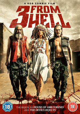 3 from Hell DVD (2019) Bill Moseley, Zombie (DIR) cert 18 ***NEW*** Great Value