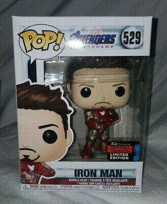 Funko Pop #529 Avengers Endgame Iron Man 2019 Nycc Exclusive Mint!