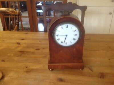 French Dome Topped mantle Clock
