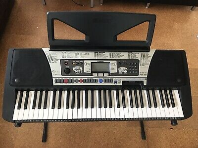 YAMAHA PSR 350 Keyboard Electronic Piano Musical Instrument With Stand and Pedal