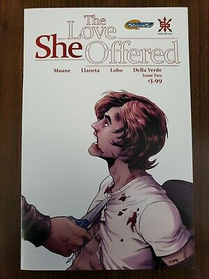 The Love She Offered #2 First Print -Sold Out Source Point Press Unread Nm Cond.