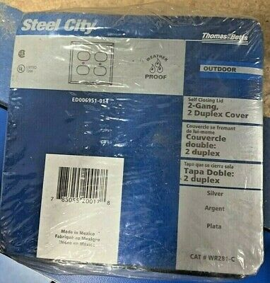 New, T&B Steel City ED006951-014 Outlet Cover