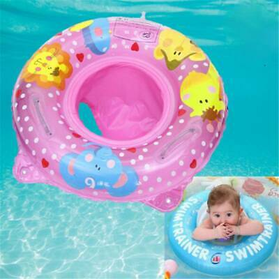 Baby Inflatable Float Swimming Ring Trainer Safety Aid Pool Water Toy Seat 6A