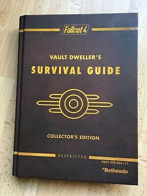 Fallout 4 Vault Dweller's Survival Guide Collector's Edition.