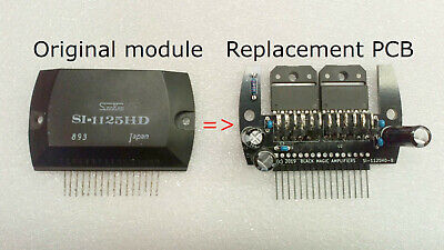 SI-1125HD  Power Amp  Replacement / Upgrade PCB
