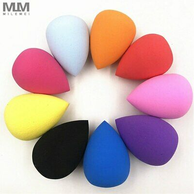 MILEMEI Water-drop Puff 1pcs Accessories Powder Shape Smooth Women's Tools Make