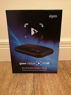 Elgato Hd60 Game Capture Card | 1080P | Xbox | Playstation | Twitch | Nintendo