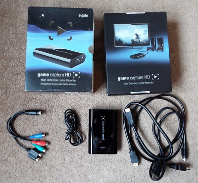 Elgato Capture Card Hd  / 1080P / 60Fps / Xbox / Playstation  * Mint Condition *