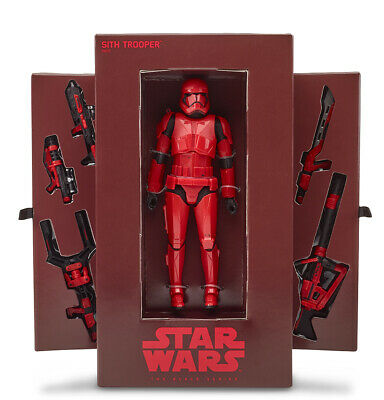 IN HAND! 2019 SDCC Exclusive Star WarsThe Black Series Sith Trooper Crimson Deco