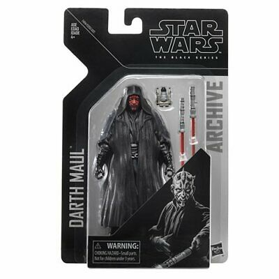IN STOCK! NEW Star Wars The Black Series Archive Darth Maul 6-Inch AF