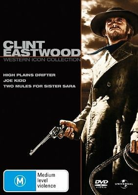 Clint Eastwood - Western Collection (DVD, 2007, 3-Disc Set)
