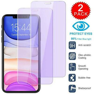 For iPhone 11 Pro X XS Max XR 8 7 Plus Real Tempered Glass Screen Protector