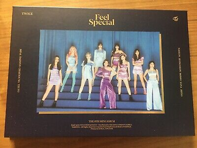 TWICE 8th Mini Album Feel Special Opened w/ Poster & Pre-order Benefit
