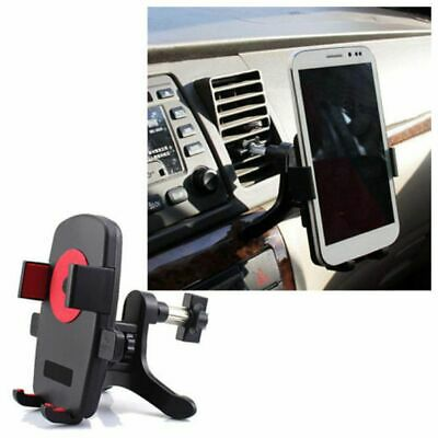 Stand Cradle Car Air Vent Mount Cell Phone Holder 360° Rotation & Swivel