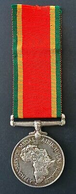 African Service Medal - South Africa WW2 - Named to D. Williams