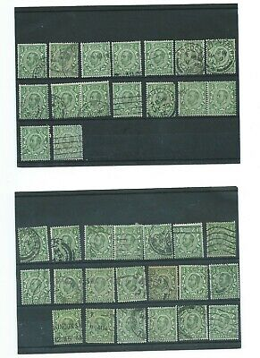 Gv Downey Heads 1911-1912 Stamps