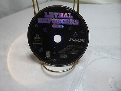 Lethal Enforcers I & II (Sony PlayStation 1, 1997) Disc only