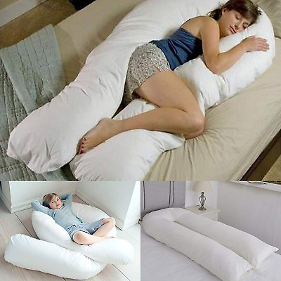 Bedding Home 12 FT Long C_U Shaped Full Body Cuddly & Maternity Pregnancy Pillow