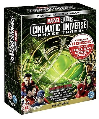 Marvel Studios Cinematic Universe: Phase Three - Part One (4 RELEASED 11/11/2019
