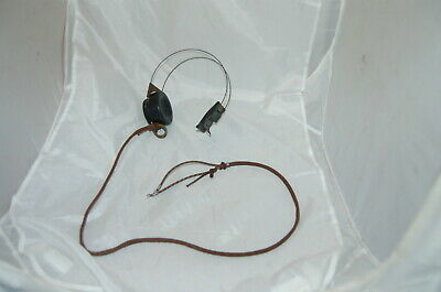 Vintage Antique Western Electric  11A Telephone Operator Headset NICE!