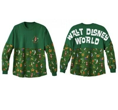 Walt Disney World Enchanted Tiki Room Spirit Jersey Pullover Top Shirt L Large
