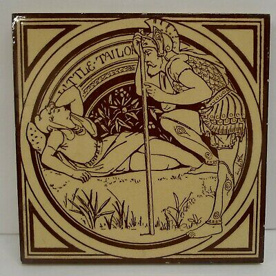 Mintons China Works Little Taylor  Antique Tile John Moyr Smith
