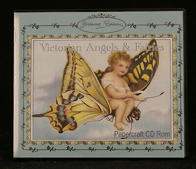 Cardmaking  Joanna Sheen Victorian Angels and Fairies CD Rom.