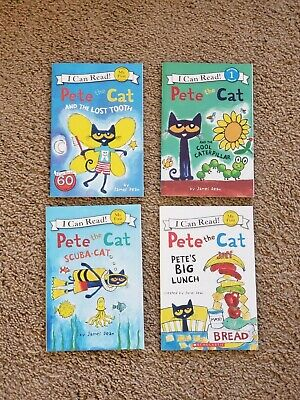 Lot of 23 Early Reader learn to read books Pete Cat My Little Pony Splat Trolls