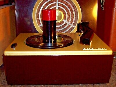 Rca Victor J-2 45 Rpm Record Player Changer Turntable Phonograph - Restored 1953