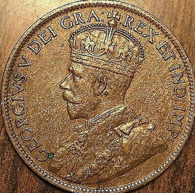 1915 CANADA LARGE CENT PENNY LARGE 1 CENT COIN - Excellent example!