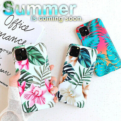 For Apple iPhone 11 Pro Max 2019 Summer Flower Design TPU Cover Shockproof Case
