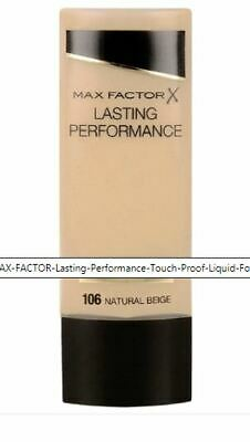MAX FACTOR Lasting Performance Touch Proof Foundation -106 Natural Beige - 35ml