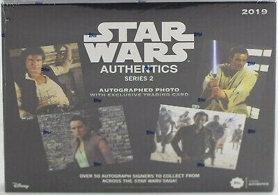 Star Wars Authentics Autographs Series 2 Hobby Box (Topps 2019) BRAND NEW - RARE