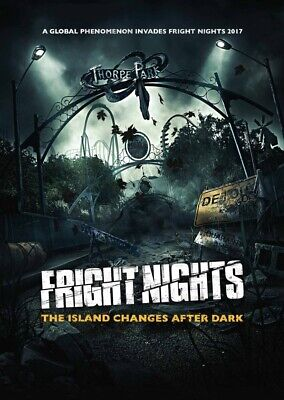 Thorpe  Park Tickets 👻Discounted 🎃Tickets Fright Night Halloween 49%off