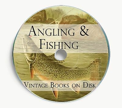 Angling Fishing Vintage Books DVD Rod Line  Reel Coarse Sea Boat Trout Carp 234